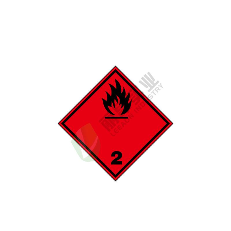危险货物运输包装标识:  易燃气体 1