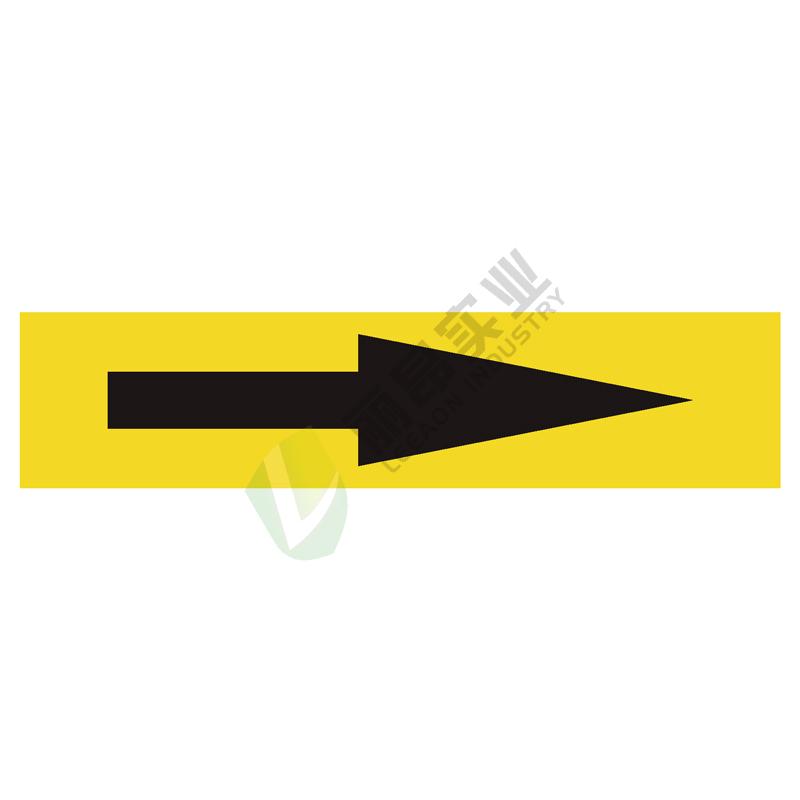管道箭头标识: 气体