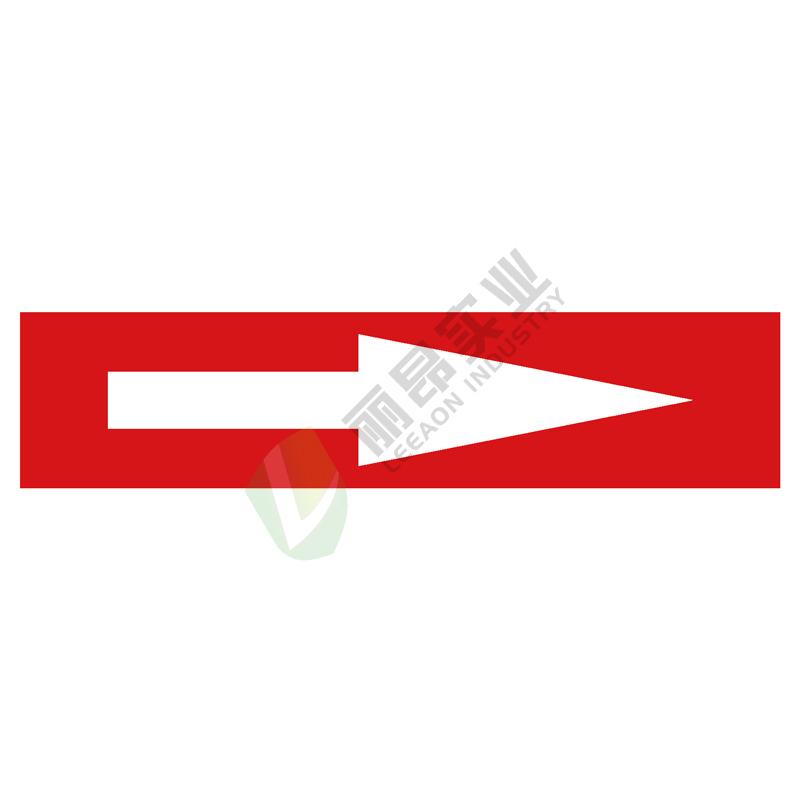 管道箭头标识: 水蒸气