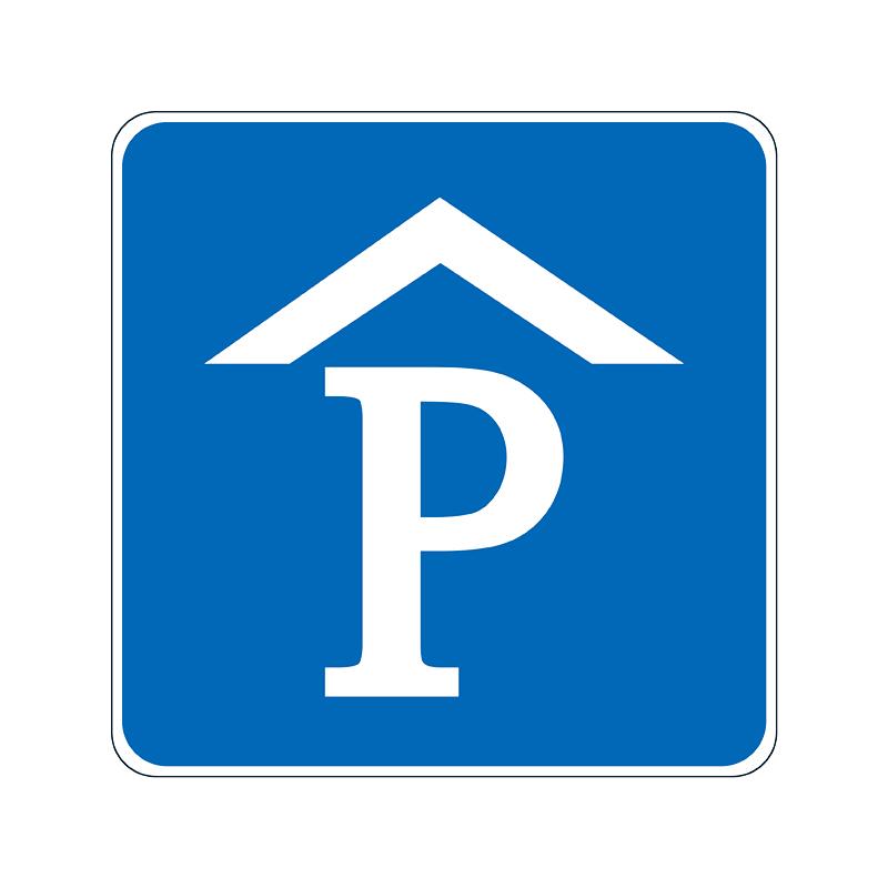 室内停车场标志