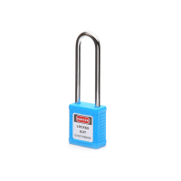 钢制长梁安全挂锁-蓝