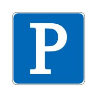 停车位标志