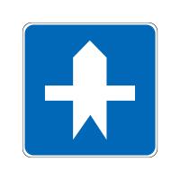 路口优先通行标志