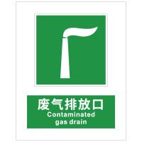 废气排放口指示标识