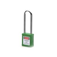 钢制长梁安全挂锁-绿