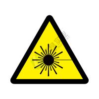 ISO安全标签:Warning Laser beam