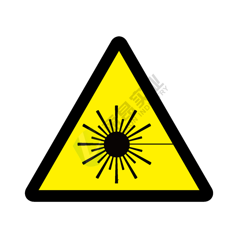 ISO安全标签:Warning Laser beam
