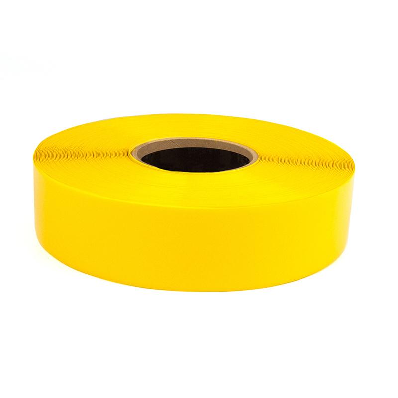 耐叉车重载划线胶带黄色