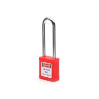钢制长梁安全挂锁-红