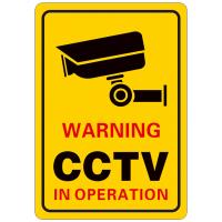 CCTV警告标识