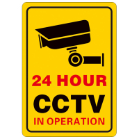24小时CCTV标识