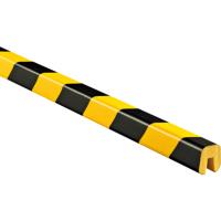 外方内槽形黑黄相间低密度PU防撞条