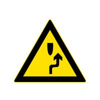 注意障碍物标志