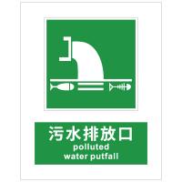 污水排放口指示标识