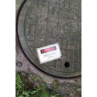 窨井盖受限空间危险警告标识