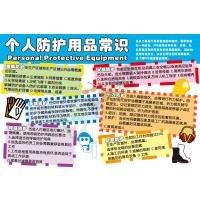 安全宣传教育挂图:个人防护用品常识