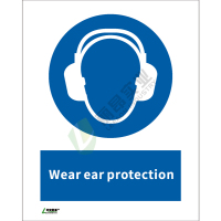 ISO安全标识: Wear ear protection