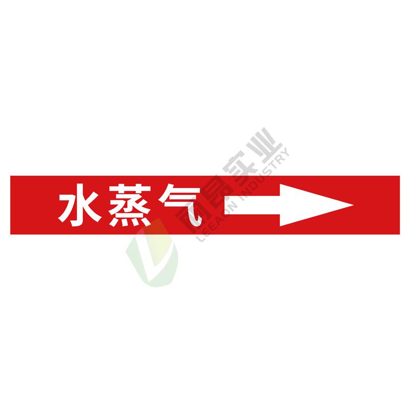 管道标识一体式管道标识: 水蒸气